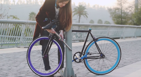 An Elegant Bicycle That Is 'Unstealable' - DesignTAXI.com
