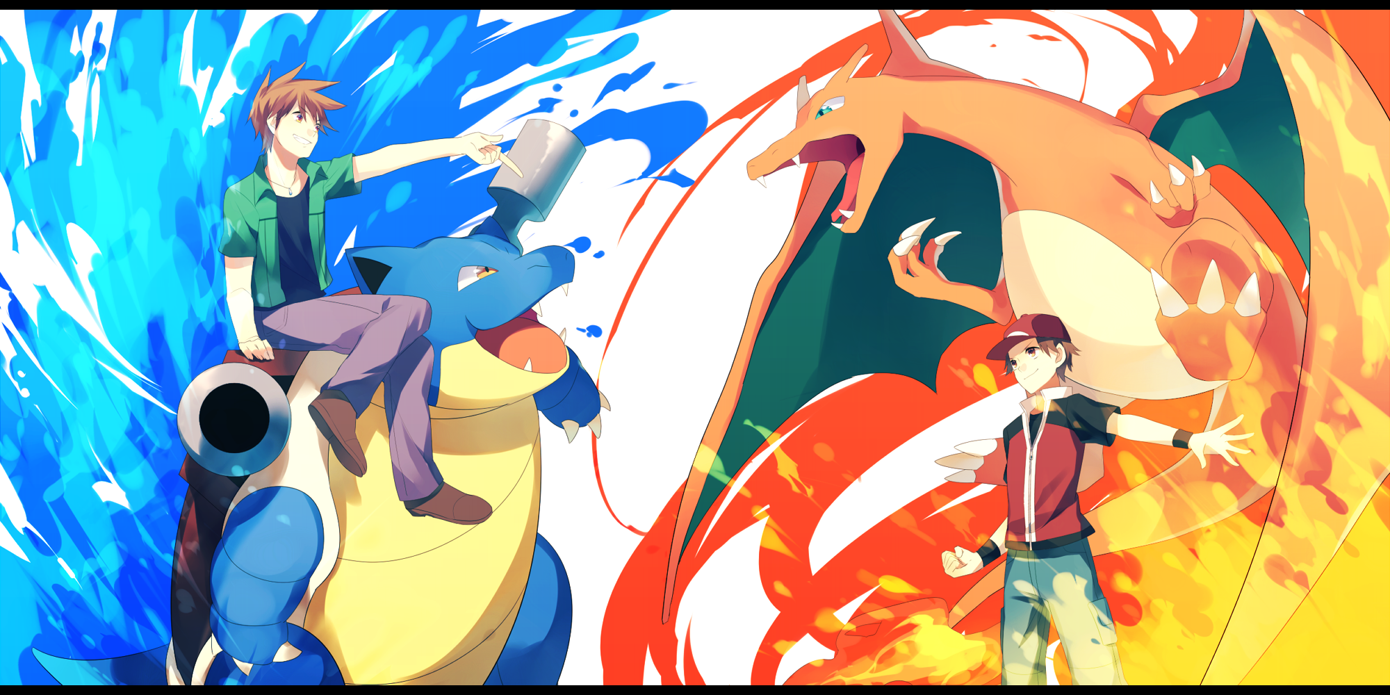 Red Vs Blue Pokemon Red Pokemon Pictures