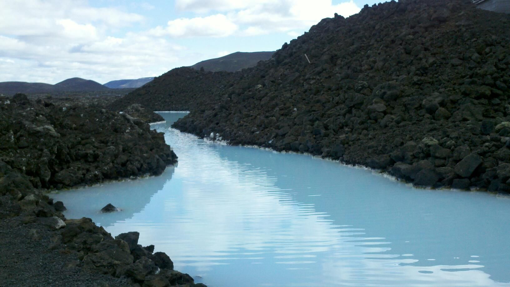 The Blue Lagoon, Iceland, taken by Mindy Gudmundson Frye May 2012