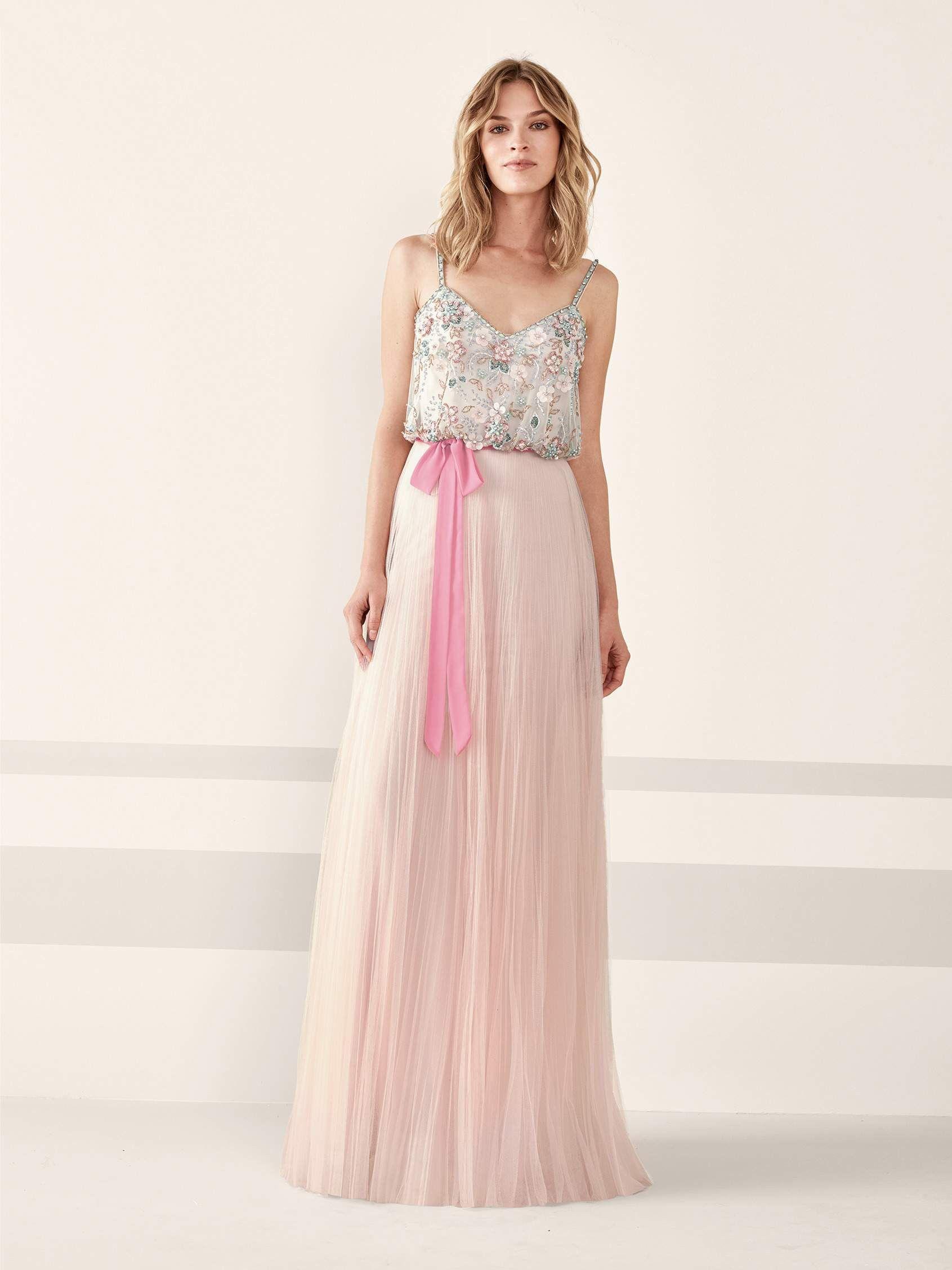vestido-fluido-fiesta-sin-mangas | vestidos fiesta | Pinterest ...