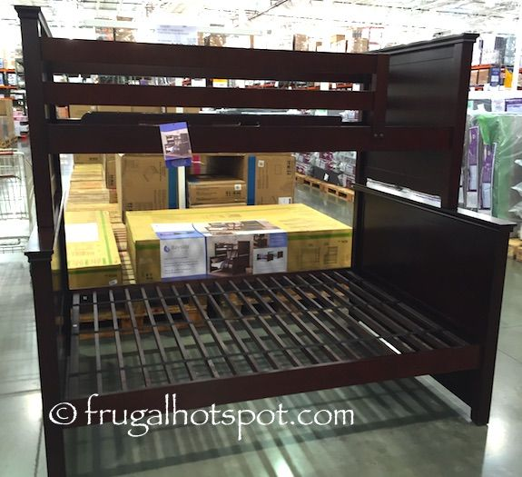Bayside Furnishings Twin Over Full Bunk Bed Costco FrugalHotspot