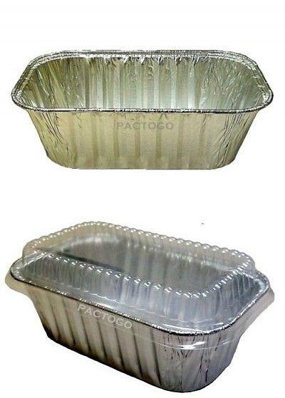 Handi Foil 1 Lb Aluminum Foil Mini Loaf Bread Baking Pan W Clear