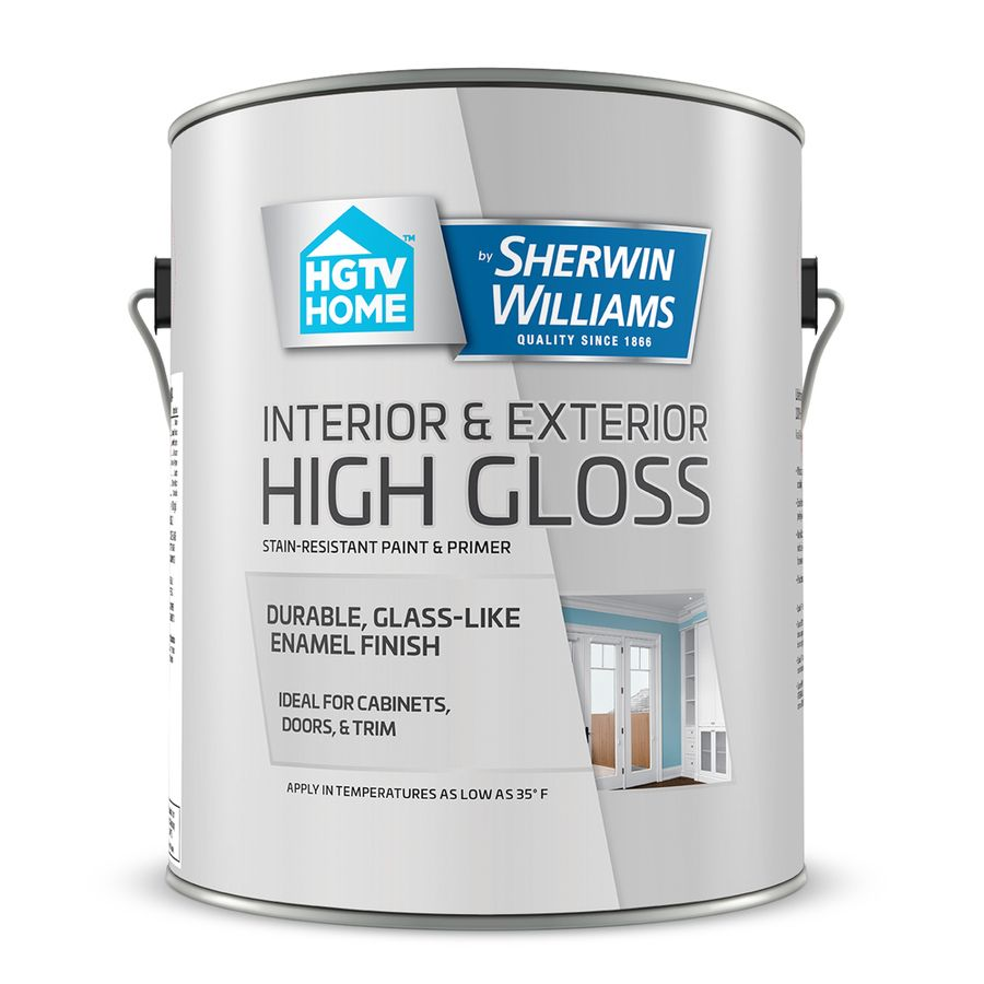 Hgtv Home By Sherwin Williams Black Water Based Door And Trim Paint Actual Net Contents 32 Fl Oz Lowes Com Painting Trim Door And Trim Paint Hgtv Home By Sherwin Williams