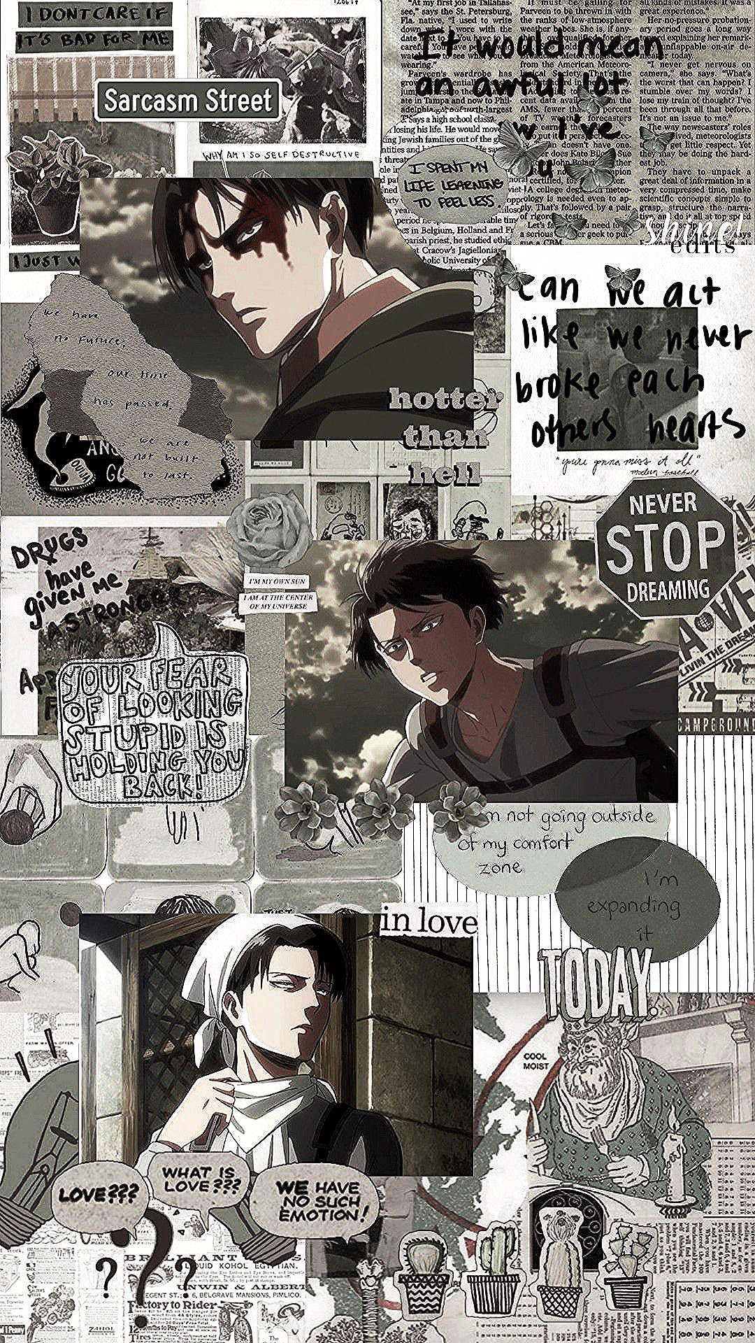 Shingeki No Kyojin Levi Ackerman Anime Wallpaper Iphone Cute Anime Wallpaper Titans Anime