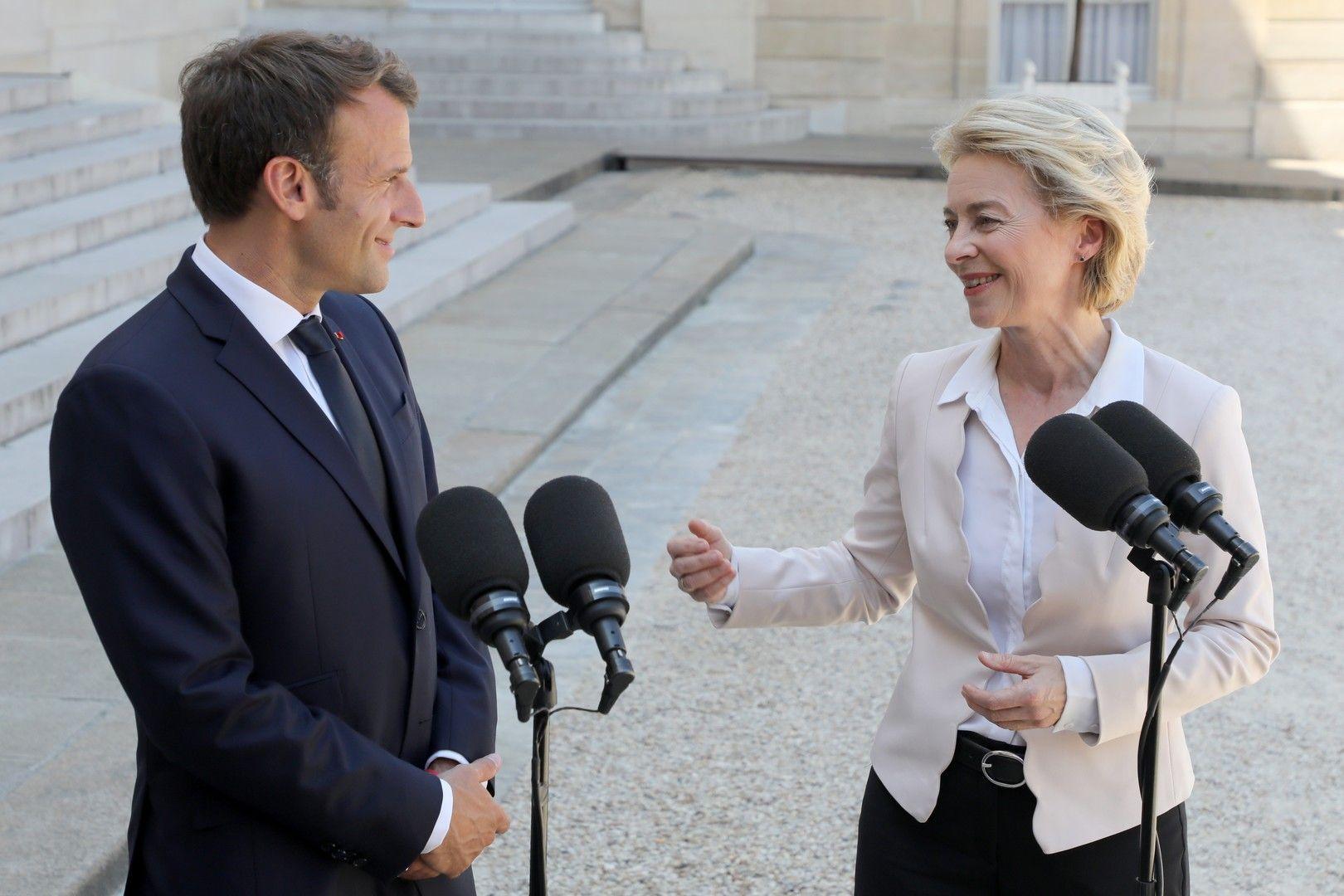 L'Europe militaire gros sous et ambitions macroniennes