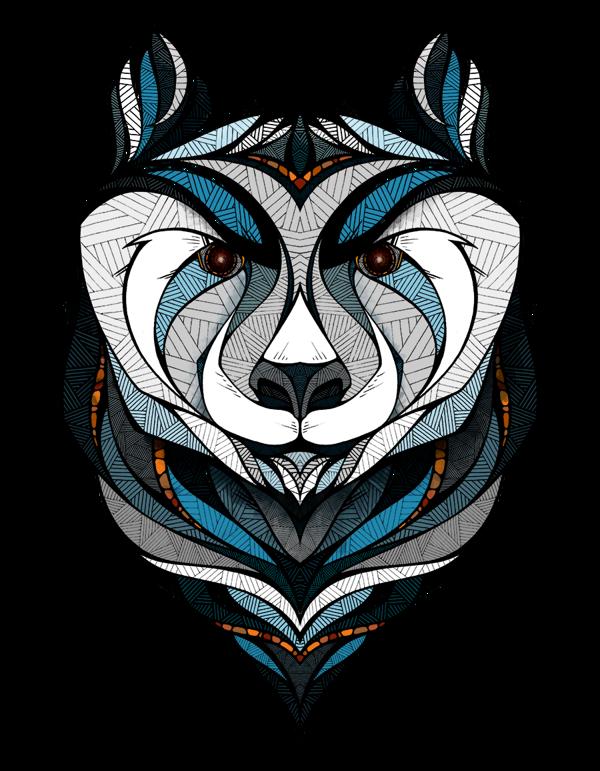 herramienta Elevado Reposición  The Amazing Animals of Illustrator Andreas Preis | Bear art, Art, Graphic  art