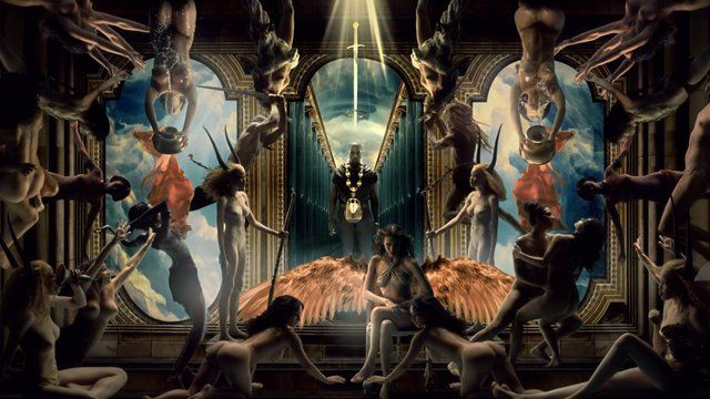 Marco Brambilla S Promo For Power Kanye West Power Surealism Art Kanye West