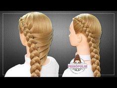 Hola hermosas hoy vamos a crear un peinado muy bonito y fácil para las chicas