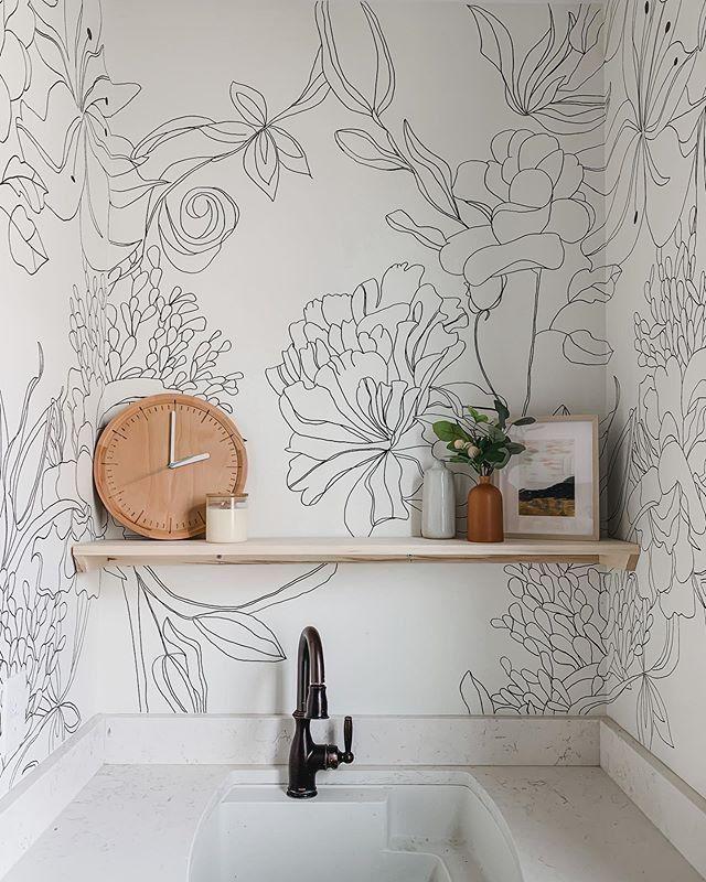 41++ Dessin mural salle de bain trends