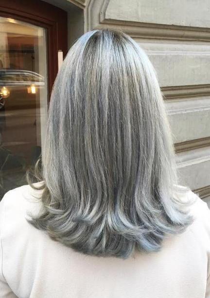 65 Gorgeous Gray Hair Styles In 2020 Long Gray Hair Grey Hair