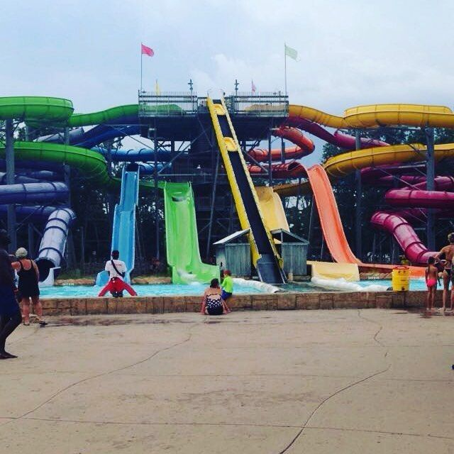 We had such a fun day at @sfgradventure #HurricaneHarborNJ before the storms rolled in.