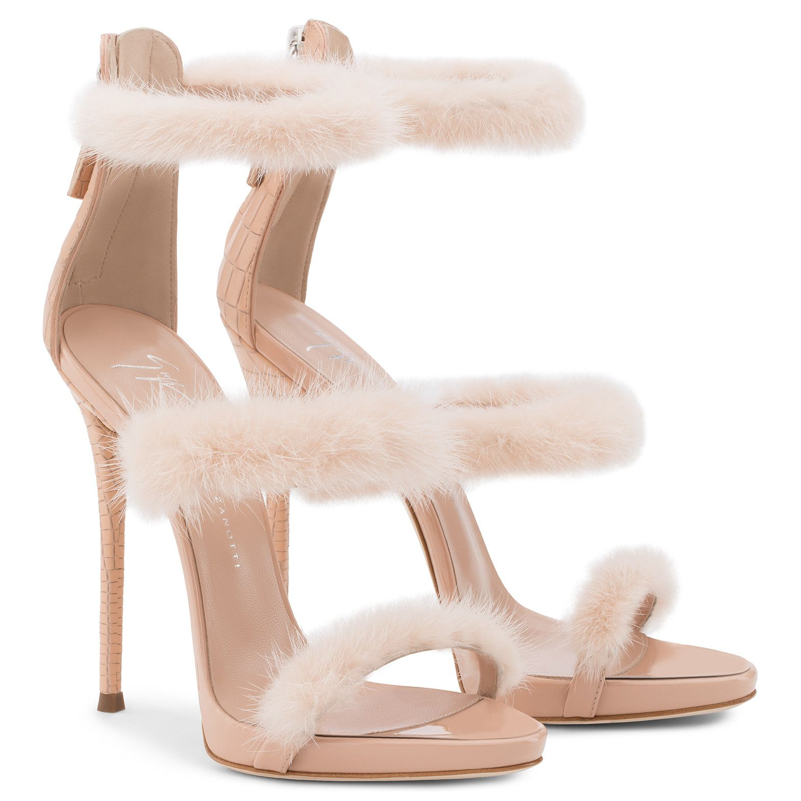 c2a81936ba178 Harmony Winter - Sandals - Pink | Giuseppe Zanotti ® | shoes ...