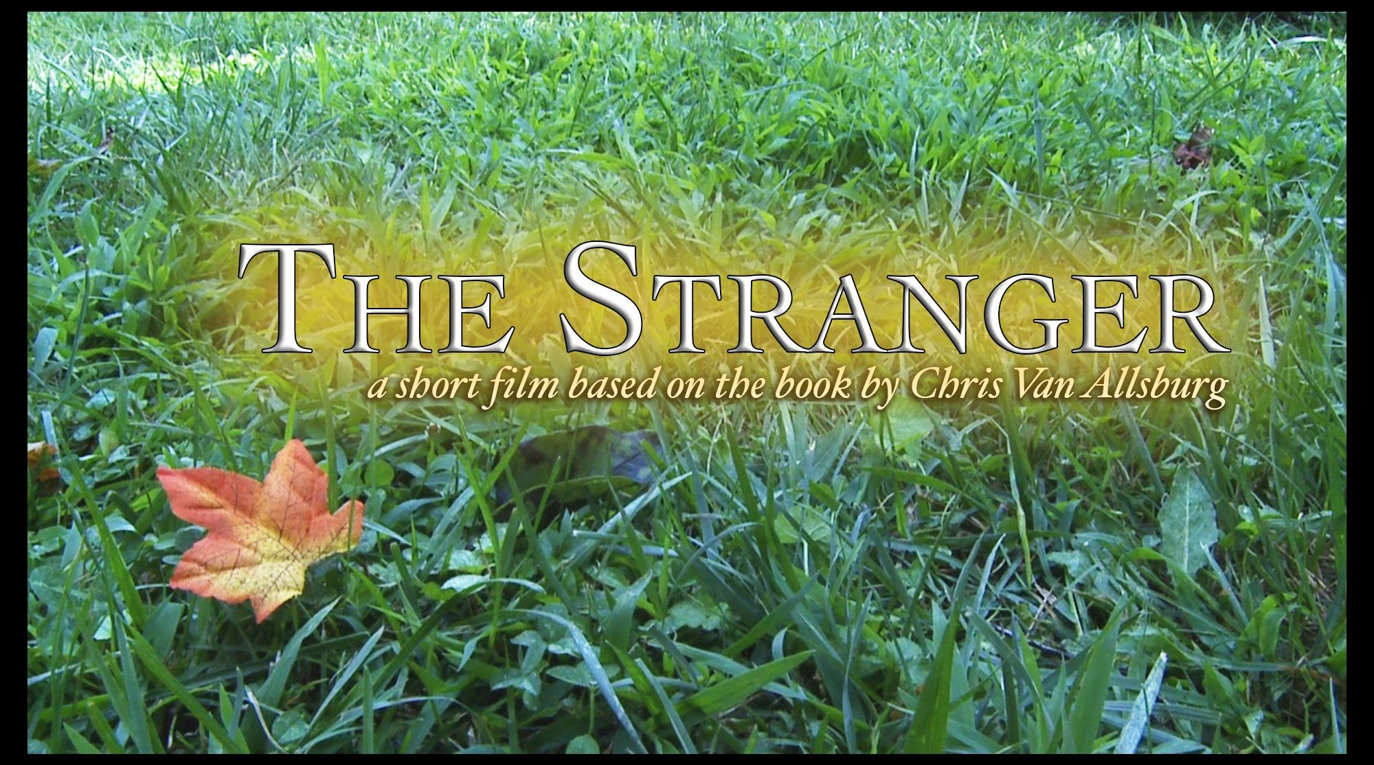 The Stranger By Chris Van Allsburg Movie Book Acted Out