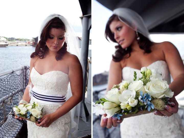 Modern Nautical Wedding Inspiration Every Last Detail Nautical Wedding Inspiration Nautical Wedding Theme Nautical Bride