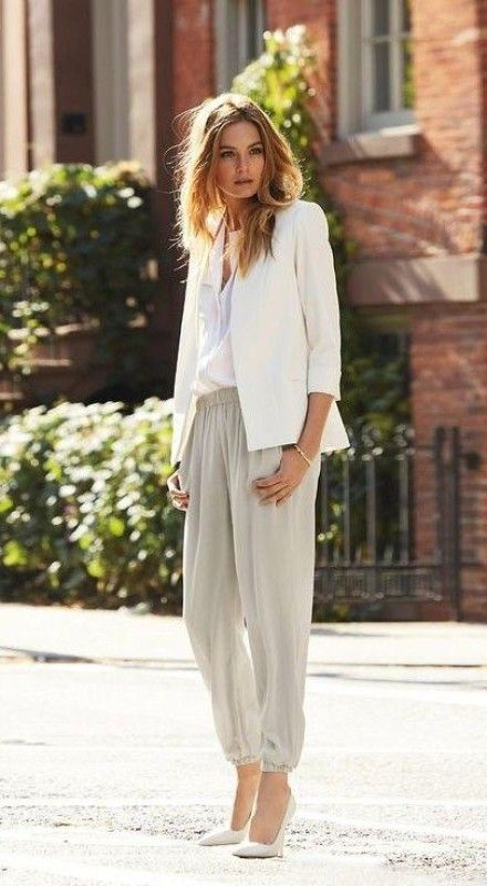 Trend Fashion: Jogger Pants Outfit read more http://bit.ly/RbZUVr