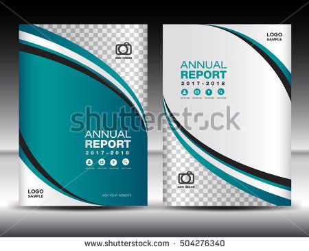 Green Cover template, cover annual report, cover design business ...
