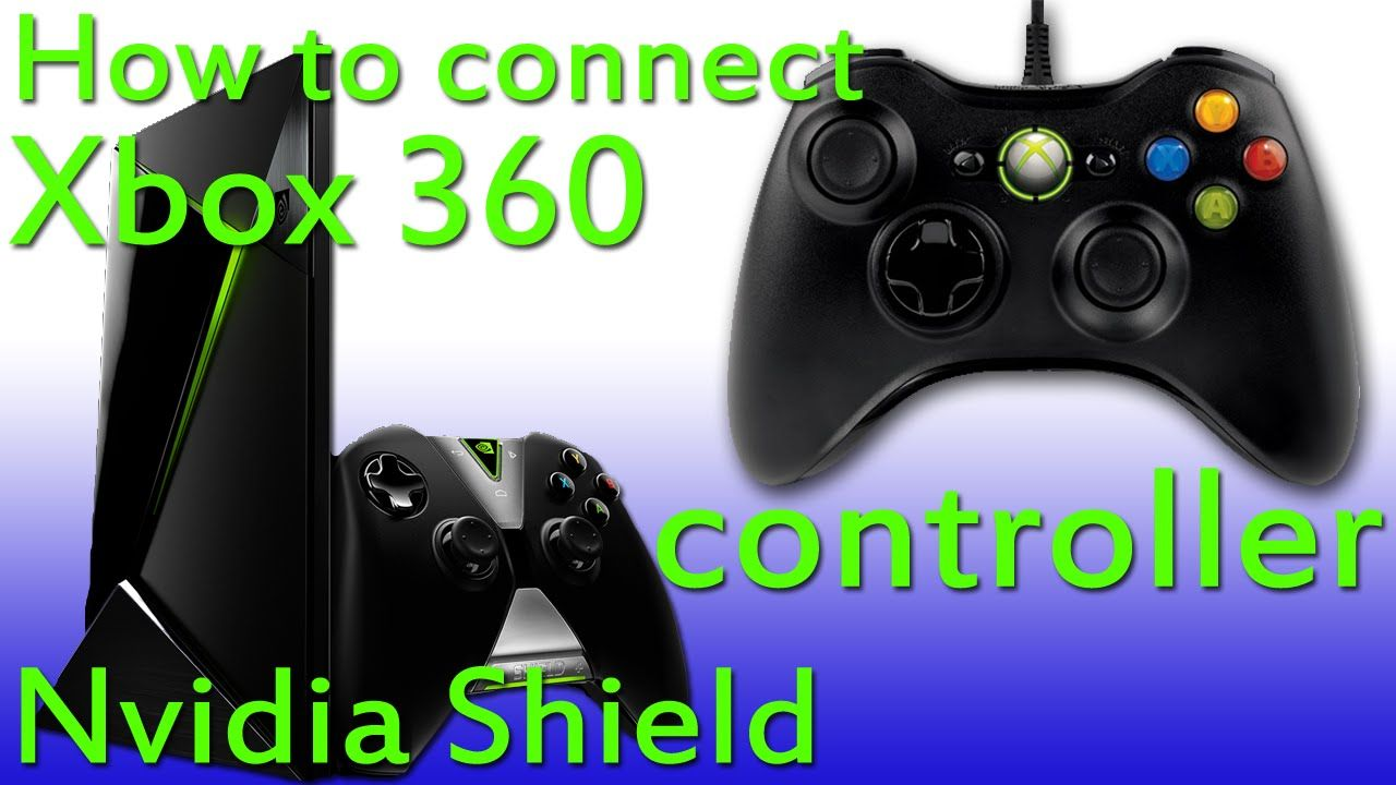 How to connect a wired XBOX 360 controller to the Nvidia Shield ...