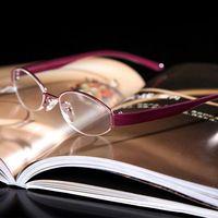 a2a8dd58d7 SHUAI DI   Semi-Rim Tr90 Leg Hd Anti-Fatigue Coated Lenses Pink Fashion  Women Reading Glasses +0.5 +0.75 +1 +1.25 To +6