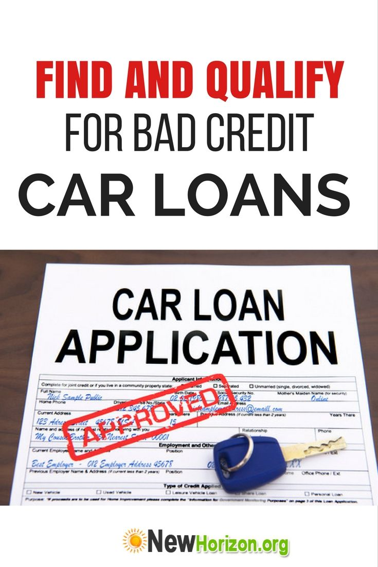 Find And Qualify For Bad Credit Car Loans Bad Credit Car Loan Car Loans Bad Credit