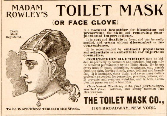advertising Poster reproduction Toilet Mask