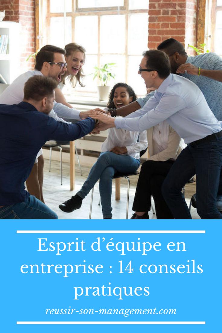 Esprit D Equipe En Entreprise 14 Conseils Pratiques Dynamique De Groupe Formation Management Motivation Au Travail
