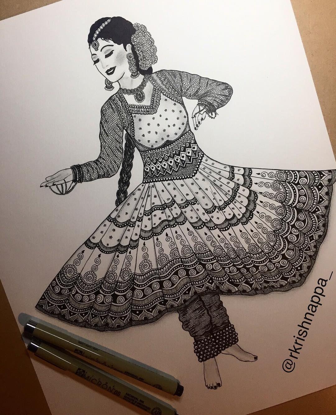 Pin By Divyanshi Singh On Mandala Design Art In 2020 Dancing Drawings Mandala Design Art Art