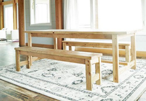 Beginner Farm Table Benches (2 Tools + $20 in Lumber)