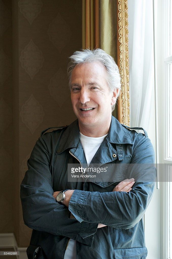 Alan Rickman attends the 'Bottle Shock' press conference at the Four Seasons Hotel on July 31, 2008 in Beverly Hills, California.