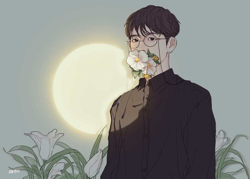 Illustrator STUPIDDRAGON_ (Twitter) aesthetic anime