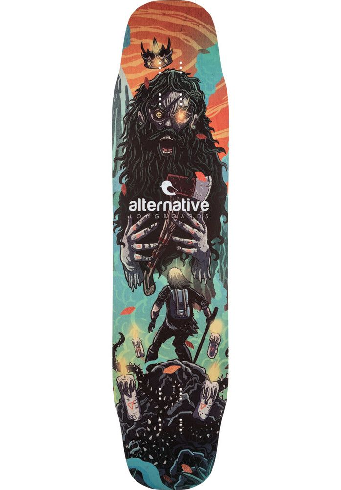 Alternative-Longboards Chauma-W - titus-shop.com  #DeckLongboard #Skateboard #titus #titusskateshop
