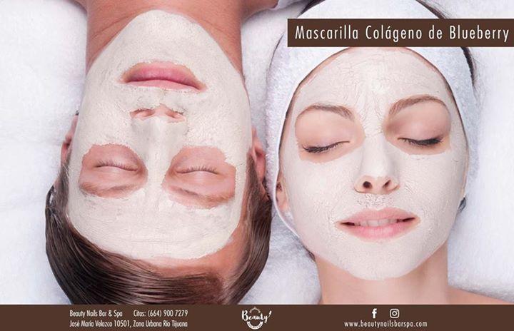 Mascarilla Colágeno de Blueberry  Promueve la biosíntesis del colágeno, fortaleciendo los fibrolastos de la piel humana y mejorando la microcirculación. Mejora las arrugas, el plisado y el adelgazamiento de la piel.   Reduce visiblemente los signos del envejecimiento, al recobrar la suavidad y vitalidad.  Agenda tu cita en http://beautynailsbarspa.com/  Beauty Nails Bar & Spa  Jose María Velazco 10501 local 5, Zona Río, #Tijuana   #OnlyAtBeauty #nailart #nailsticker #manicure #nailtreatment…