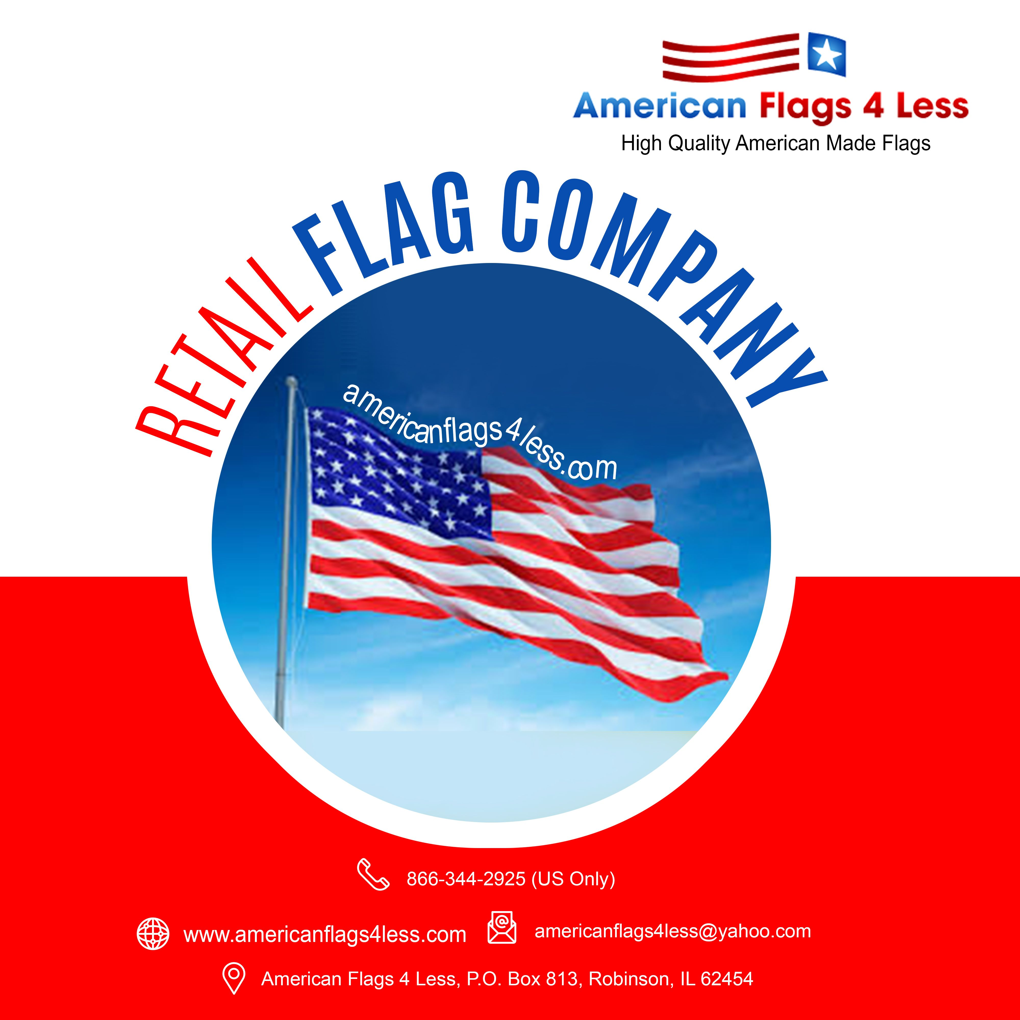Our Store Is Proud To Offer The Best Quality American Made Flags We Take Pride In Being Able To Offer Ame American Flags For Sale American Flag Flags For Sale