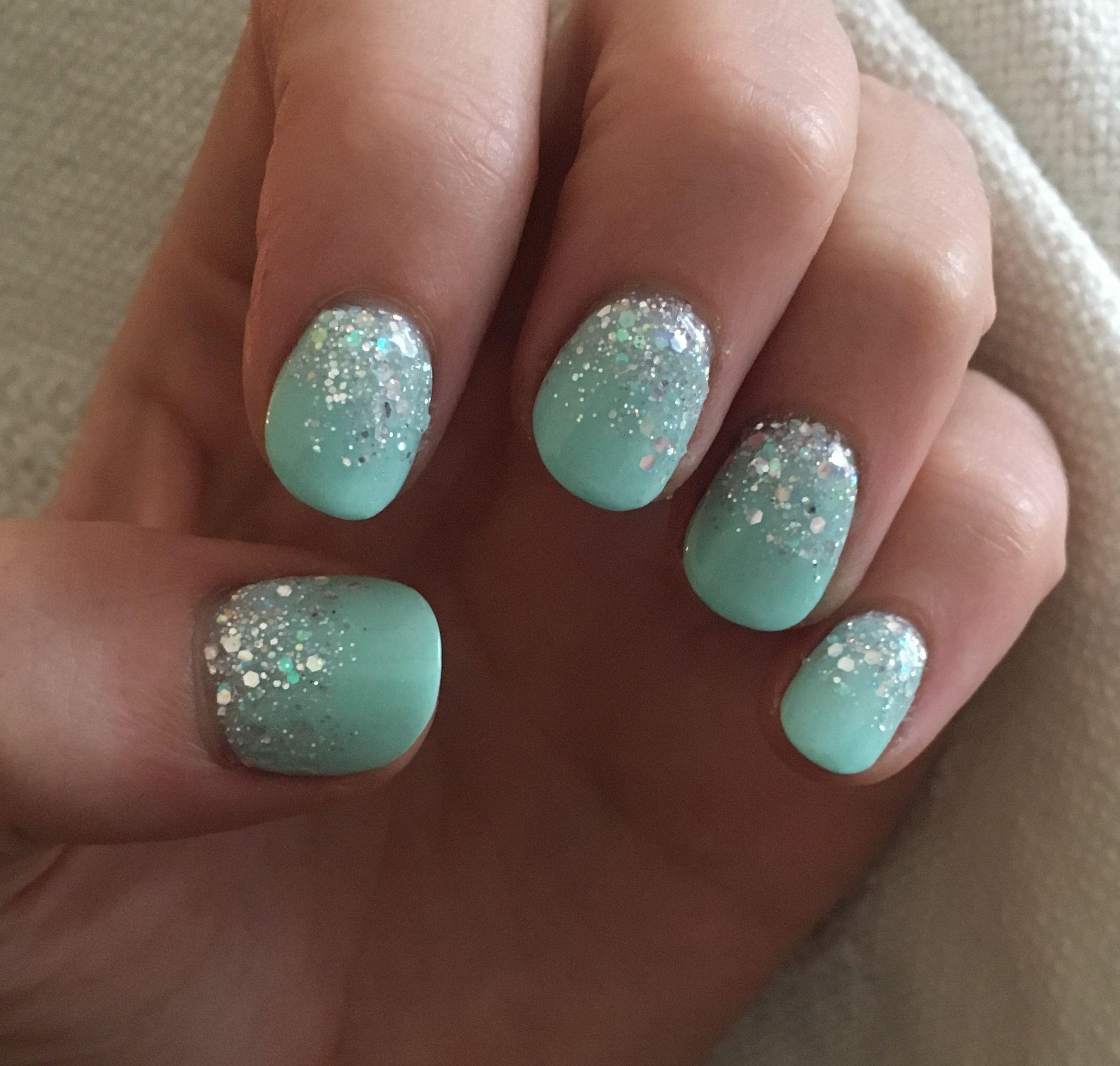 Nexgen silver ombré dip acrylic nails   Nailed it!   Pinterest