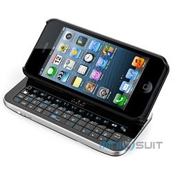 MiniSuit is acclaimed to offer all kinds of cases to suit you. This time around, MiniSuit presents a 3-in-1 product: the Bluetooth Sliding Qwerty Keyboard, Stand, and Case designed exclusively to fit the iPhone 5. This package contains the Original