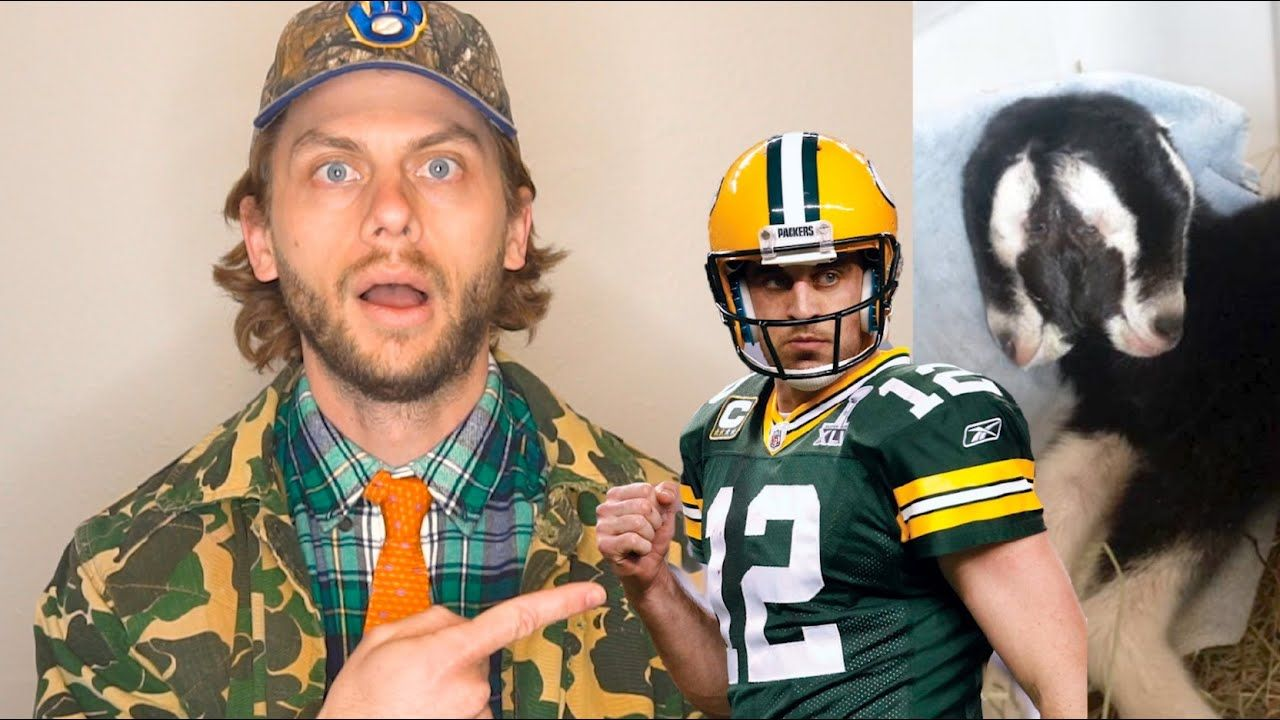 Aaron Rodgers Talks Tiger King 2 Headed Goat And Jump Around Manitowoc Minute Episode 55 Youtube In 2020 Aaron Rodgers Sports Memes Oakland Raiders