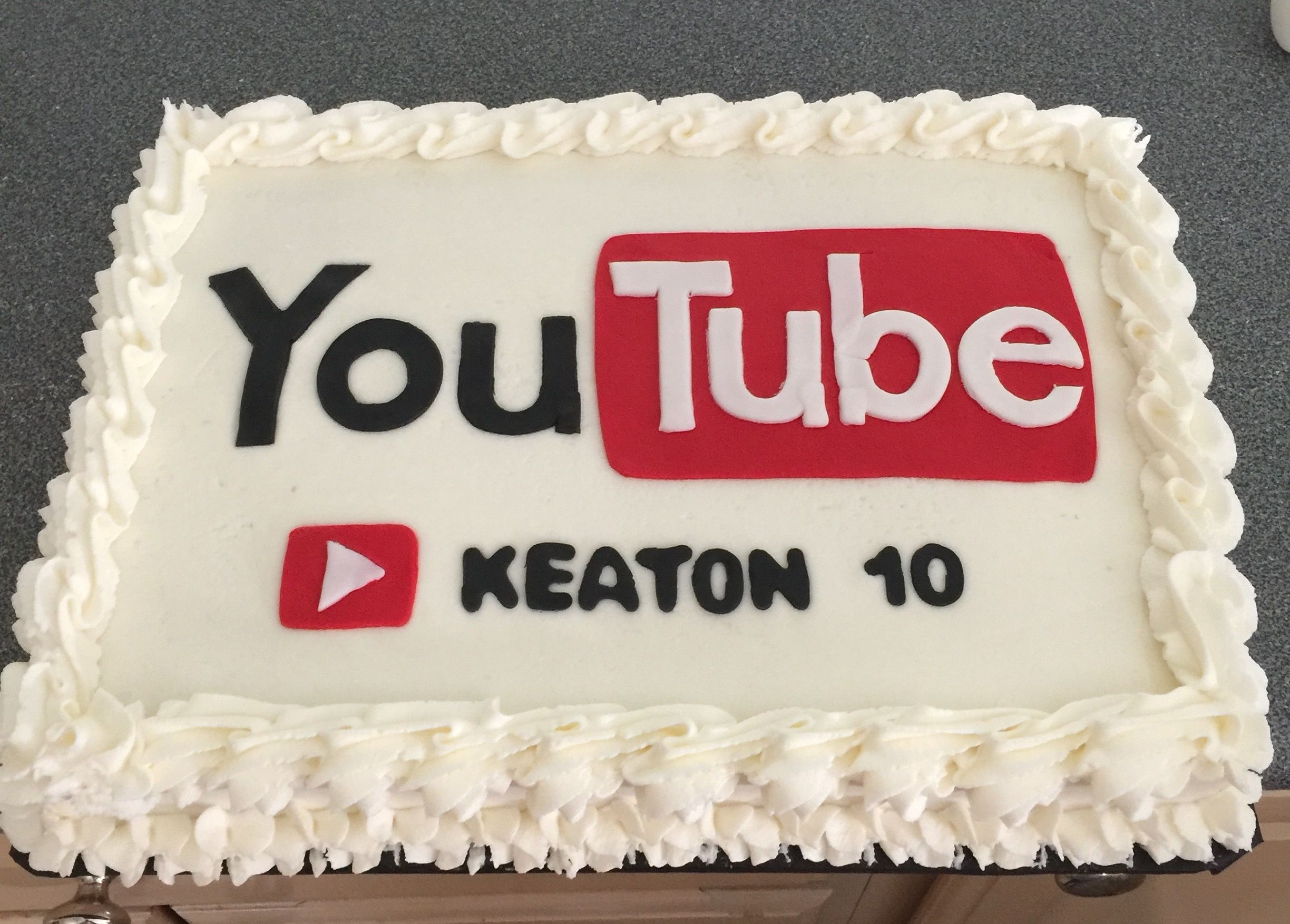 Swell You Tube Themed Cake By Dkscakes Com With Images Themed Funny Birthday Cards Online Unhofree Goldxyz