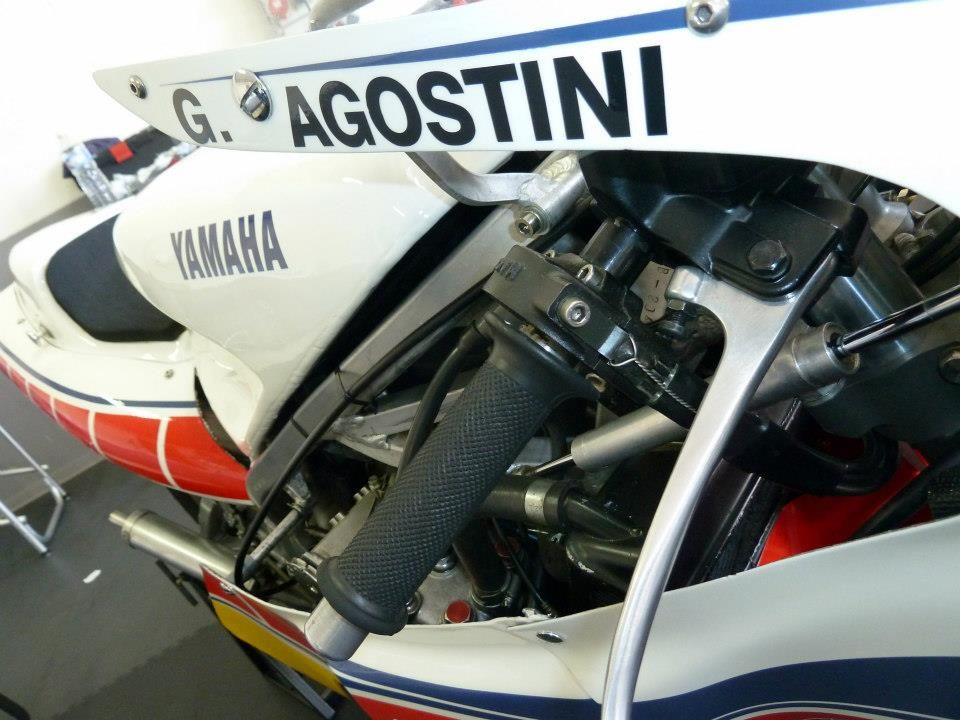 Motos de course anciennesLe Castellet 2013