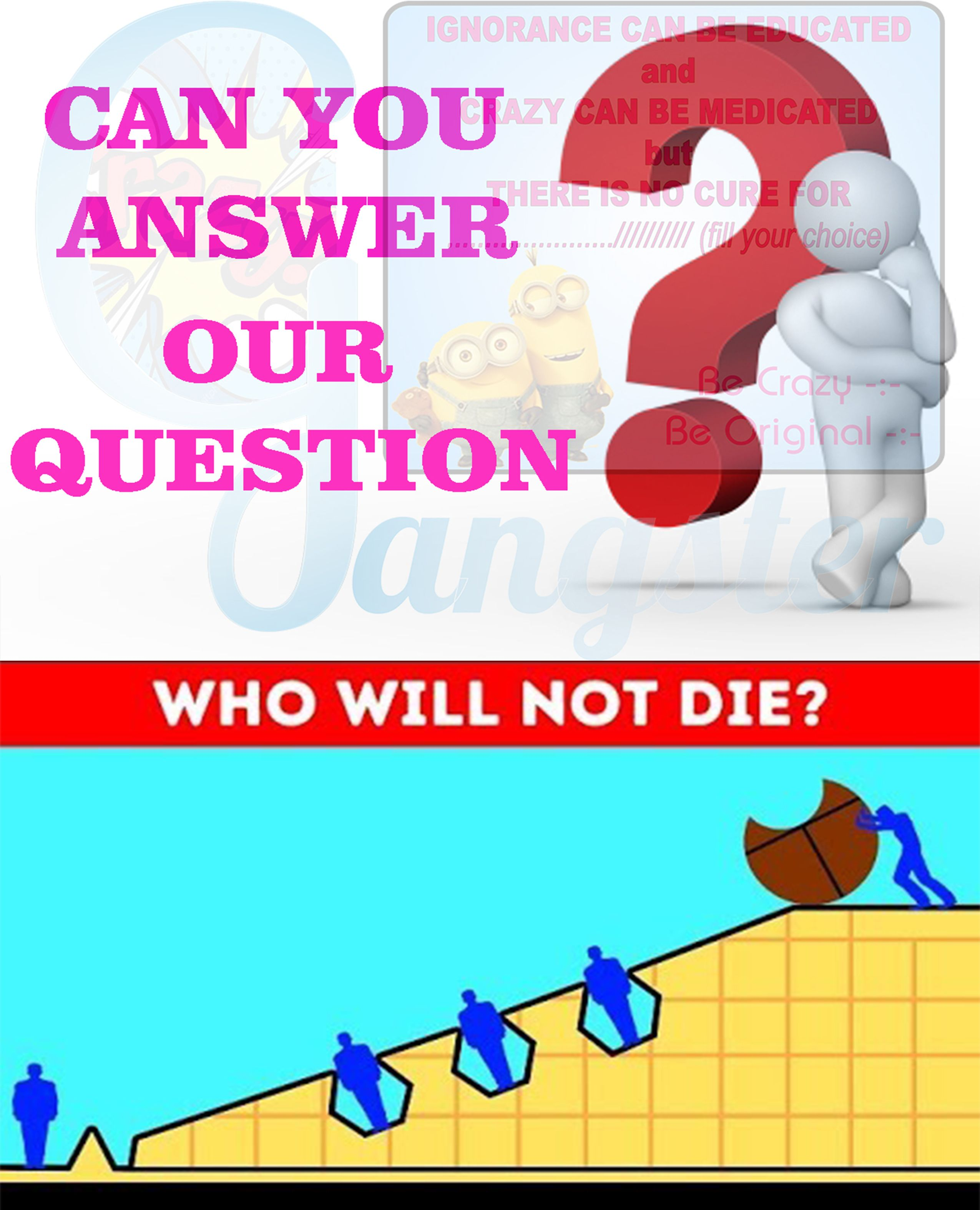 RiddleJoker Riddles This set of impossible riddles is