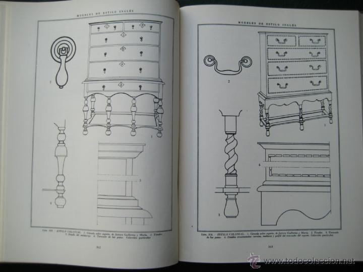 Libros de segunda mano: MUEBLES DE ESTILO INGLÉS, desde los Tudor hasta la reina Victoria con los grupos Colonial y Menorquí - Foto 6 - 41307279