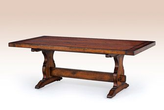 Nice French Country Trestle Table