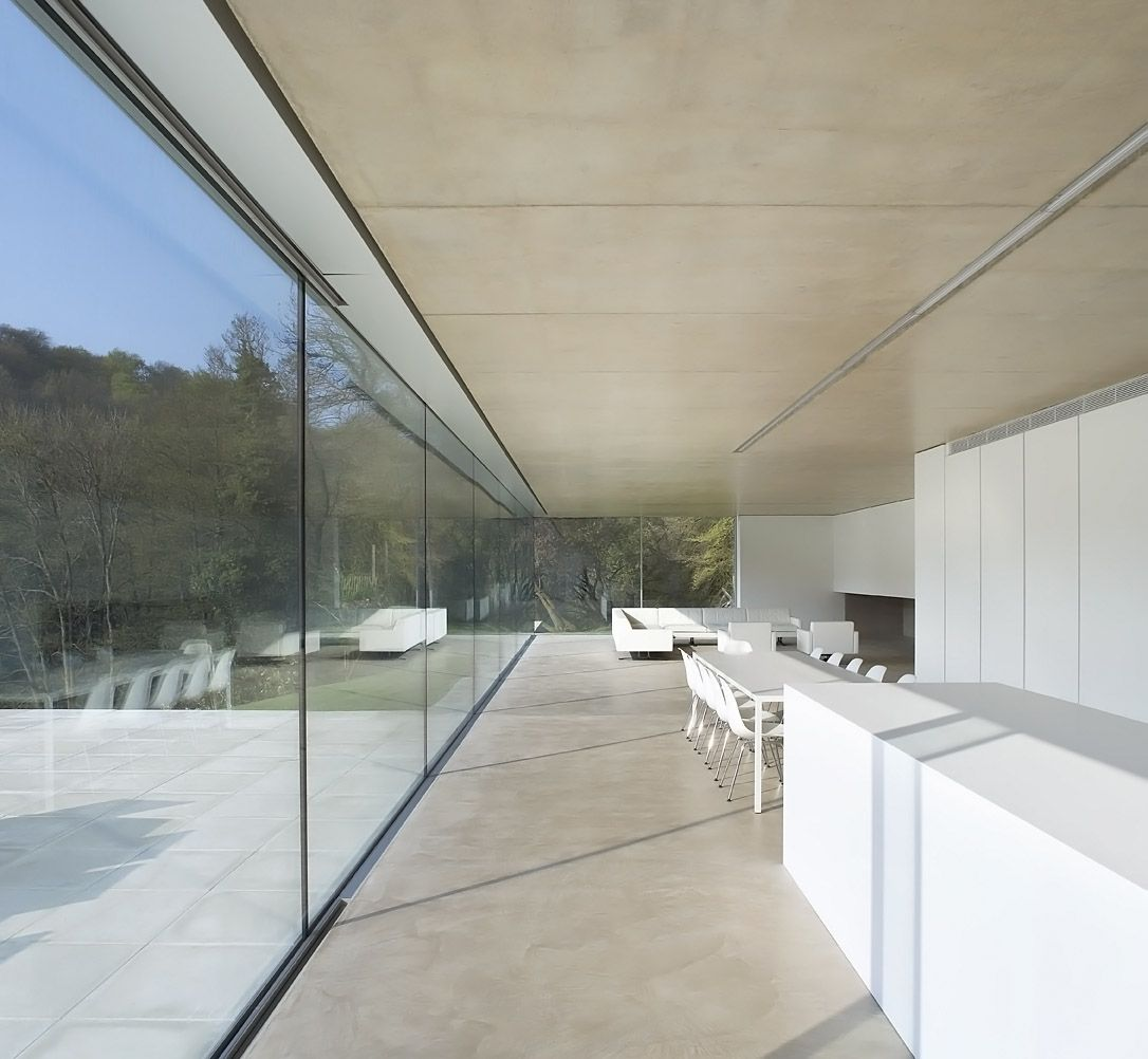 Moderne wohnarchitektur hufton  crow  projects  private house