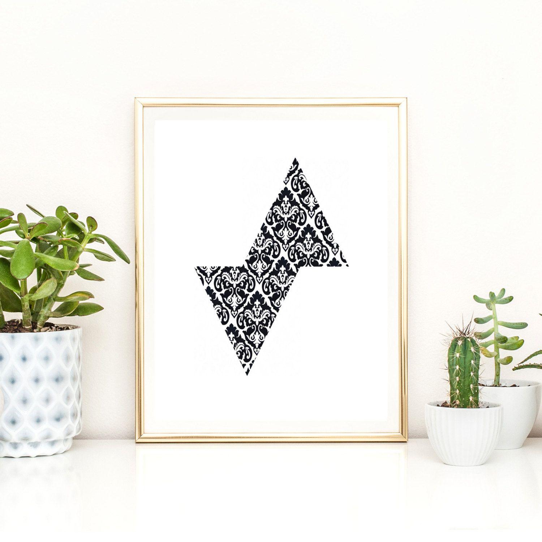 sewing print, fashion wall art, sewing set of 5 wall decor