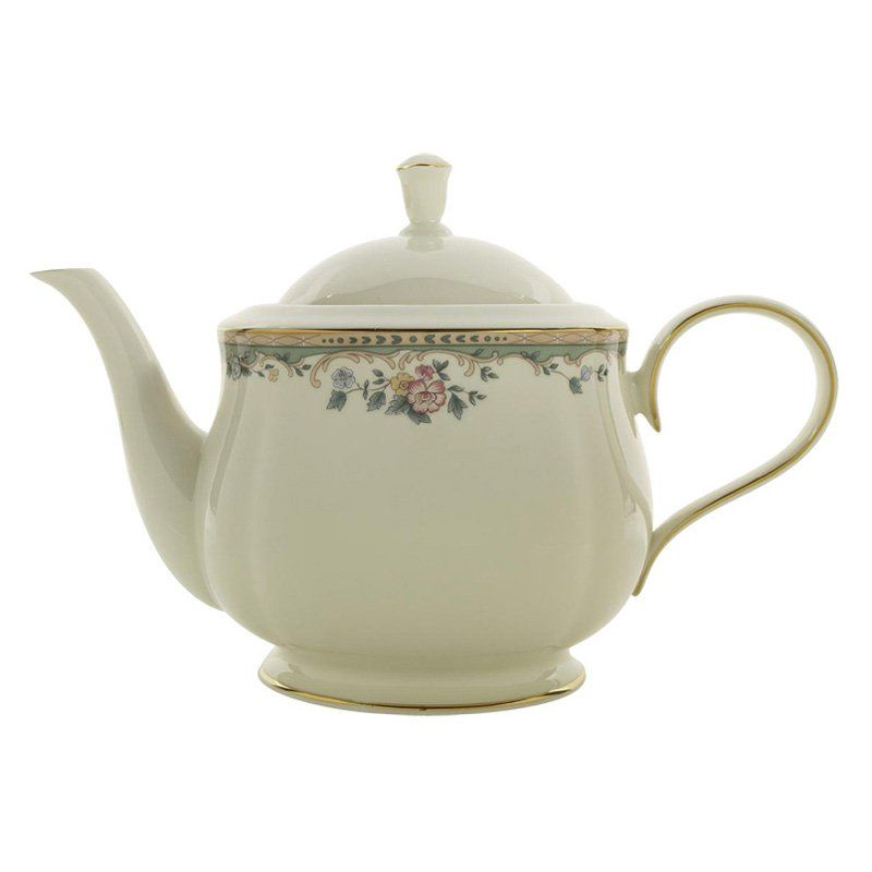 Lenox Spring Vista Teapot With Lid Tea Pots Tea China Teapot