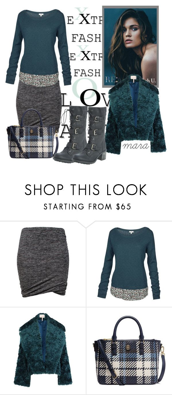"""""""Shades of Grey and Petrol...."""" by marastyle ❤ liked on Polyvore featuring Étoile Isabel Marant, Fat Face, Roksanda and Tory Burch"""