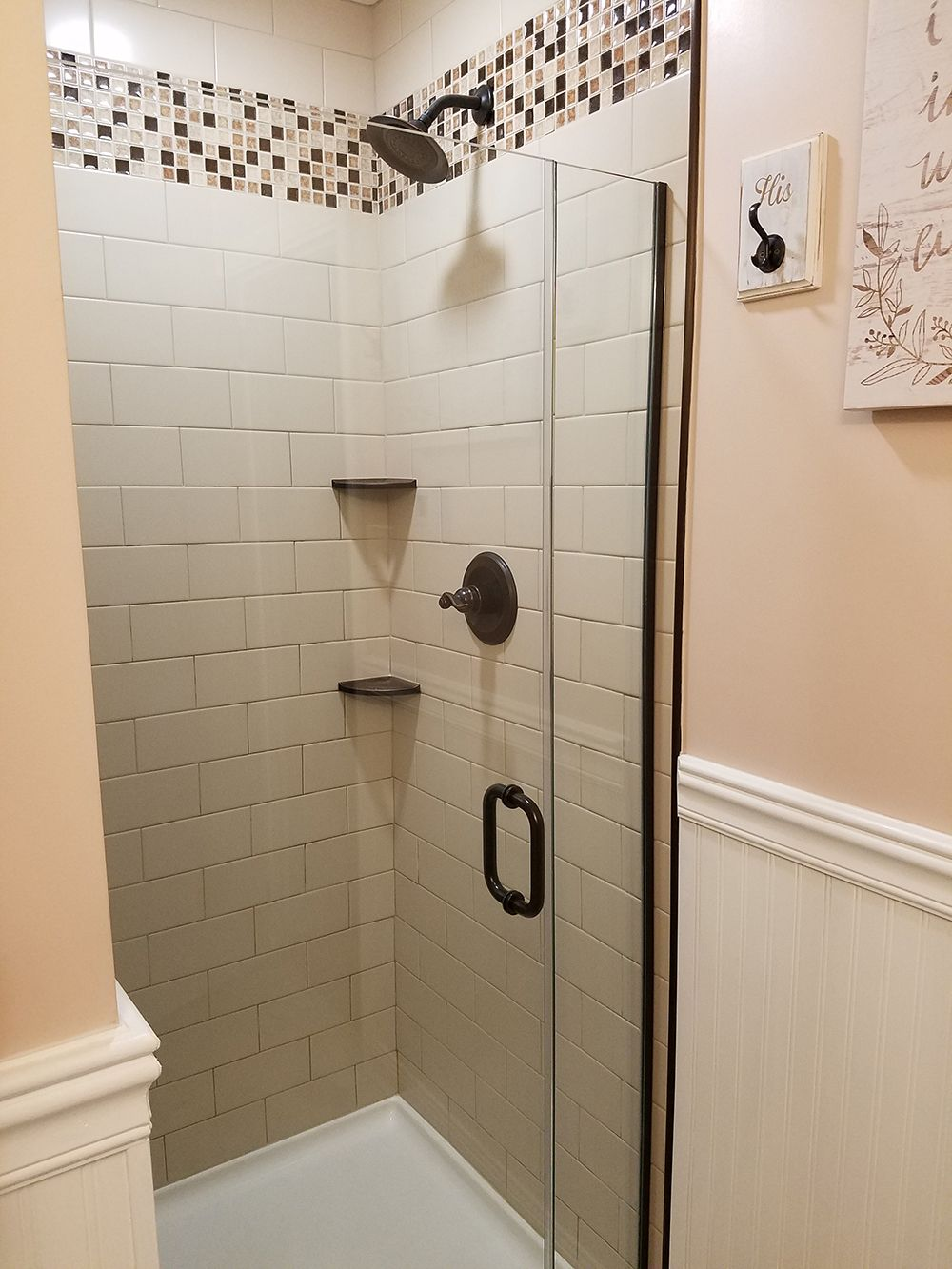 rustic farmhouse bathroom wall tile is