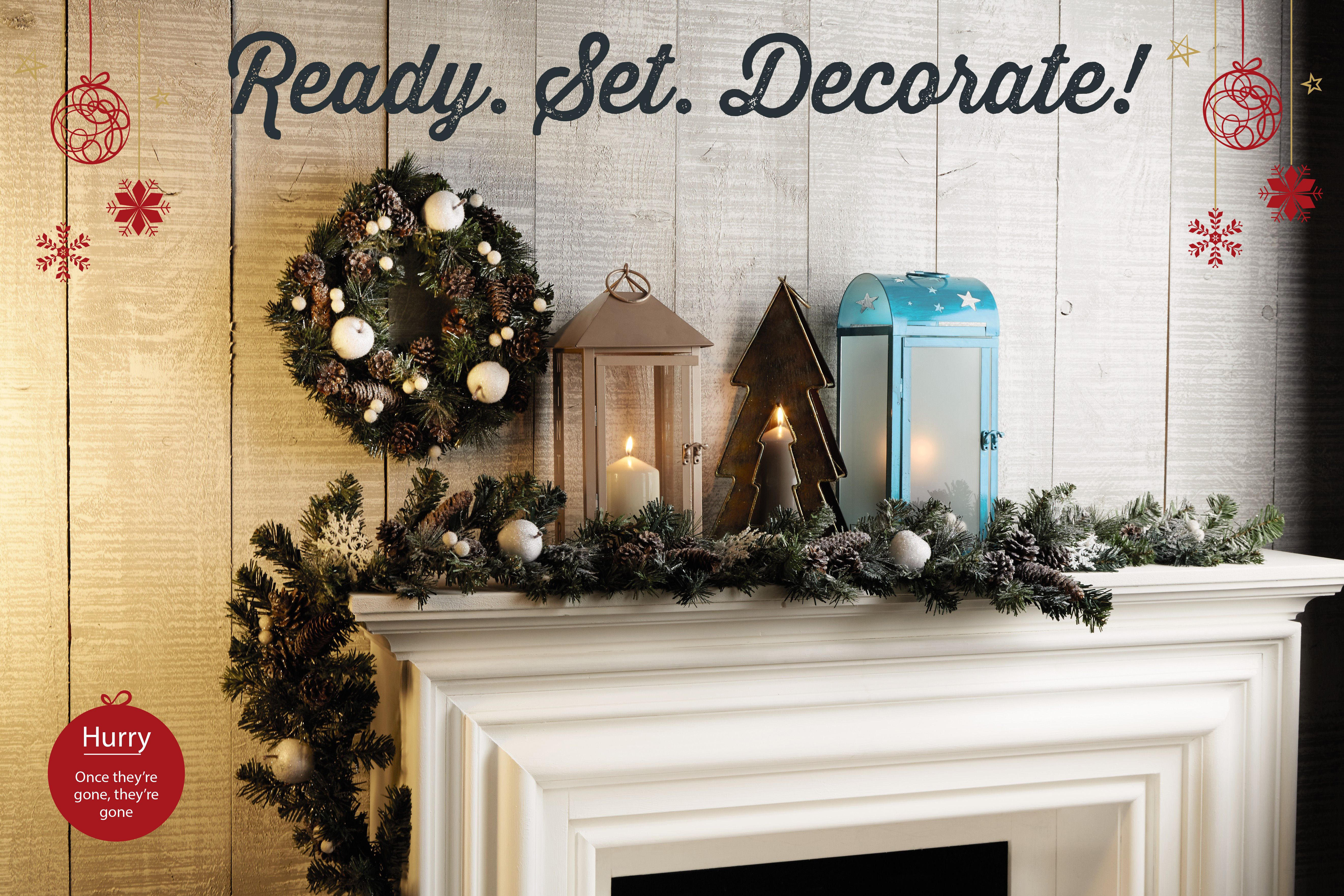Are you excited to decorate your home ready for