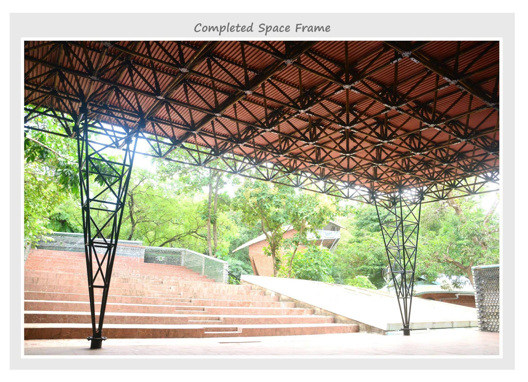 Architecture Autonomous bamboo space frame pavilion | architecture ...