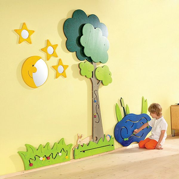 Demco.com - Gressco Nighttime Meadow Wall Designs | Preschool ...