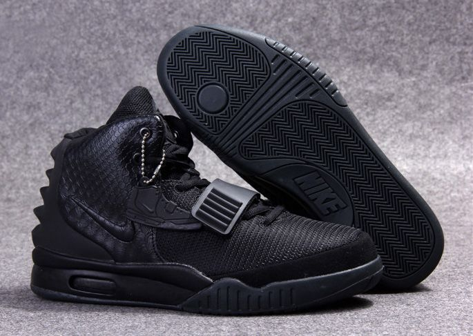 Latest Listing Discount Nike Air Yeezy II All Black Blackout Basketball  Shoes Store