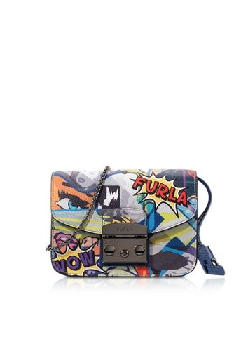 ca65918a06 Furla Metropolis Multicolor Graffiti Mini Crossbody Bag | Bags ...